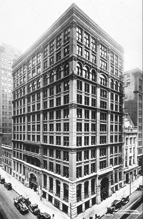 The Home Insurance Building, Chicago, USA