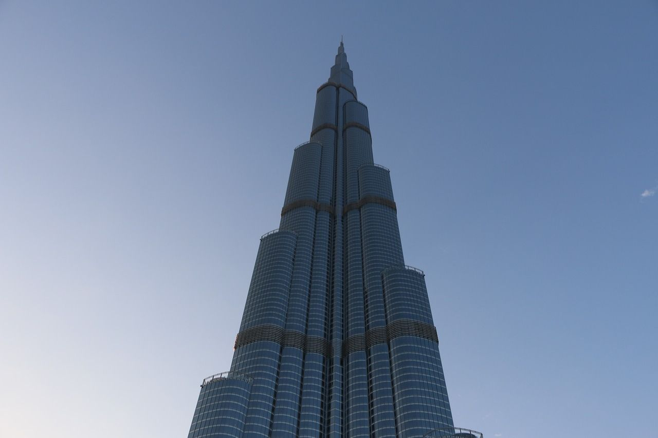 The Burj Khalifa, Dubai, UAE
